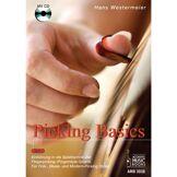 Acoustic Music Books Picking Basics 1 für Gitarre Hans Westermeier, Buch/CD