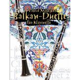Alfred Music Balkan-Duette - 2 Klarinetten Vahid Matejkos, Buch/CD