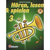 De Haske Hören, lesen, spielen, Band 3 Trompete, Buch & CD