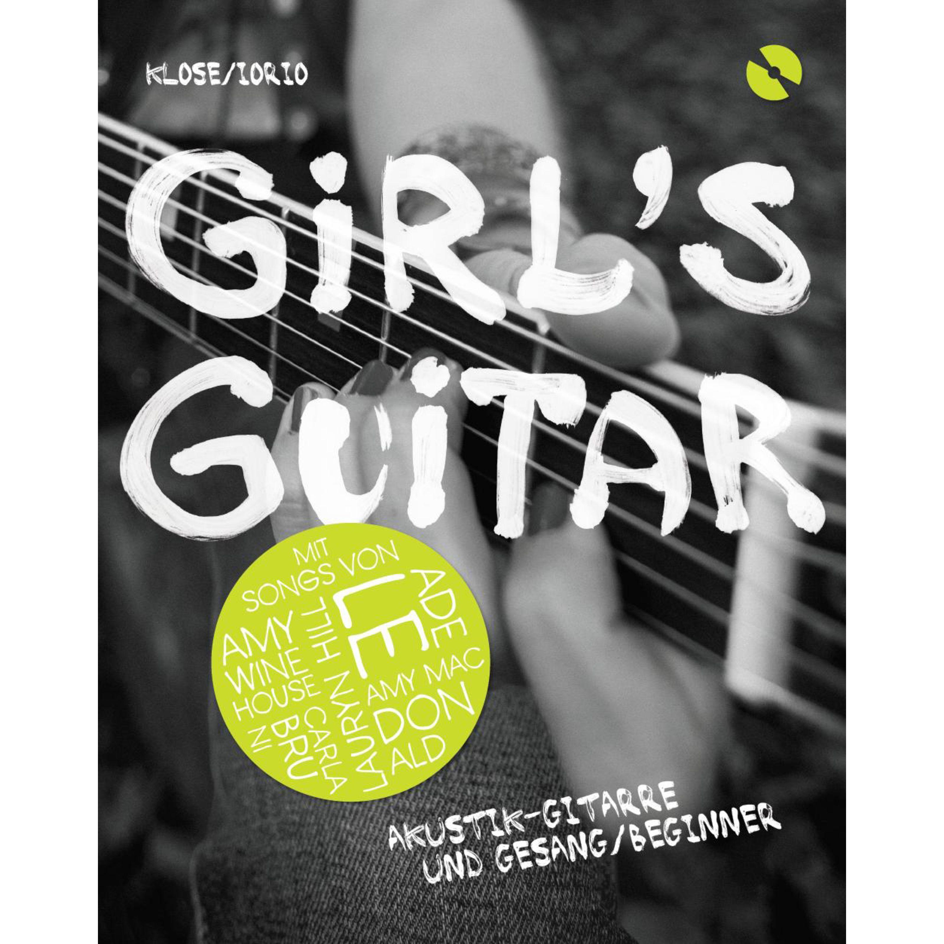 Bosworth Music Girl's Guitar-Akustik-Gitarre Lehrbuch mit CD