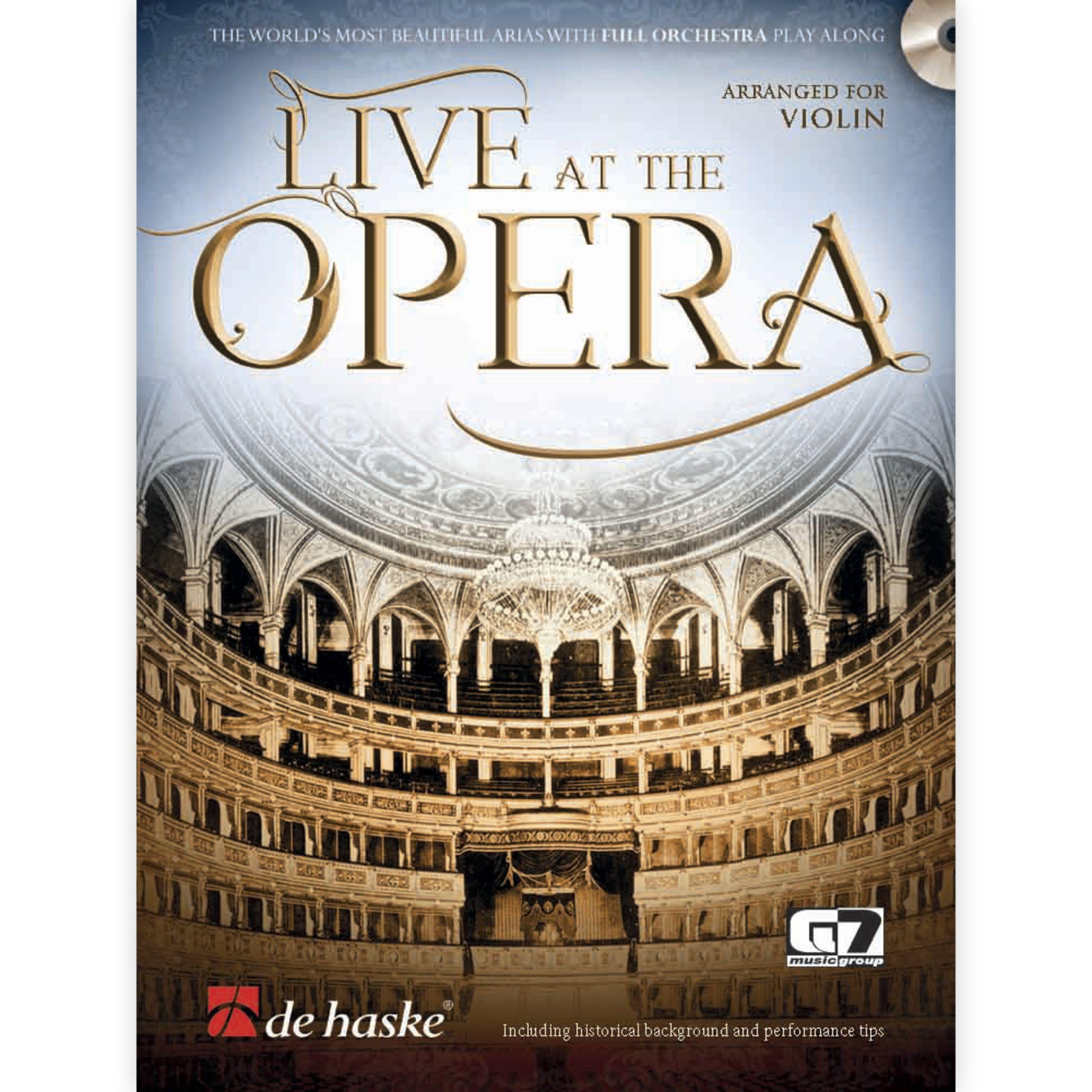 De Haske Live at the Opera - Violin