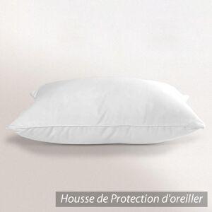 Linnea Housse de Protection d'oreiller imperméable Antony Blanc 75x50 - Publicité