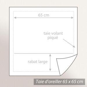 Linnea Parure de lit 240x220 cm satin de coton BLOSSOM rouge ocre 3 pièces