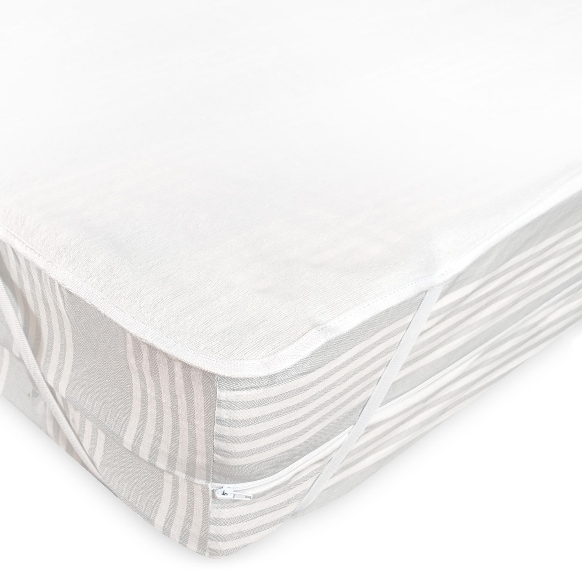 Linnea Alèse plate imperméable 100x190 cm ARNON molleton 100% coton contrecollé polyuréthane