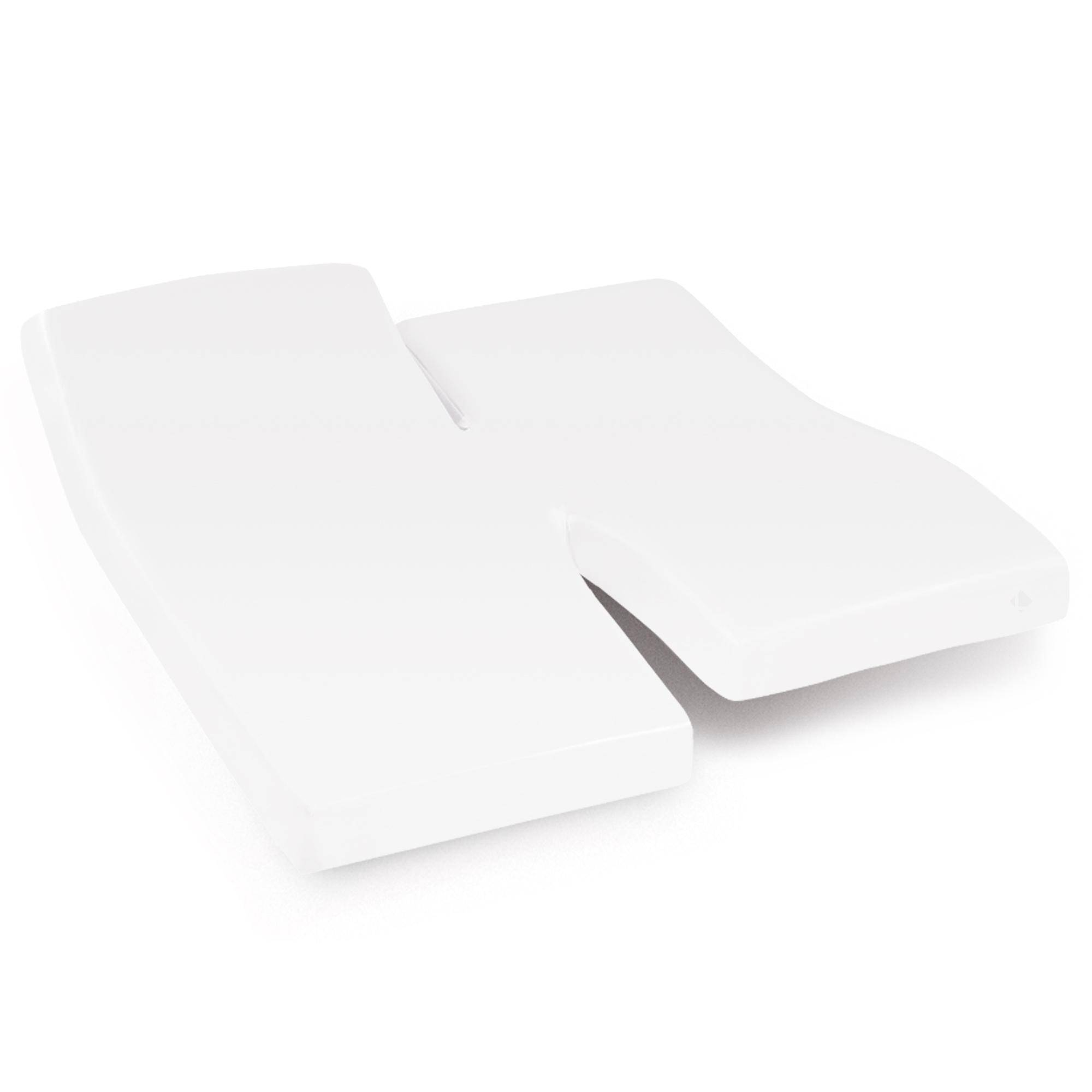 Linnea Protège matelas imperméable 2x80x220 cm lit articulé TPR bonnet 40cm ARNON molleton 100% coton contrecollé polyuréthane