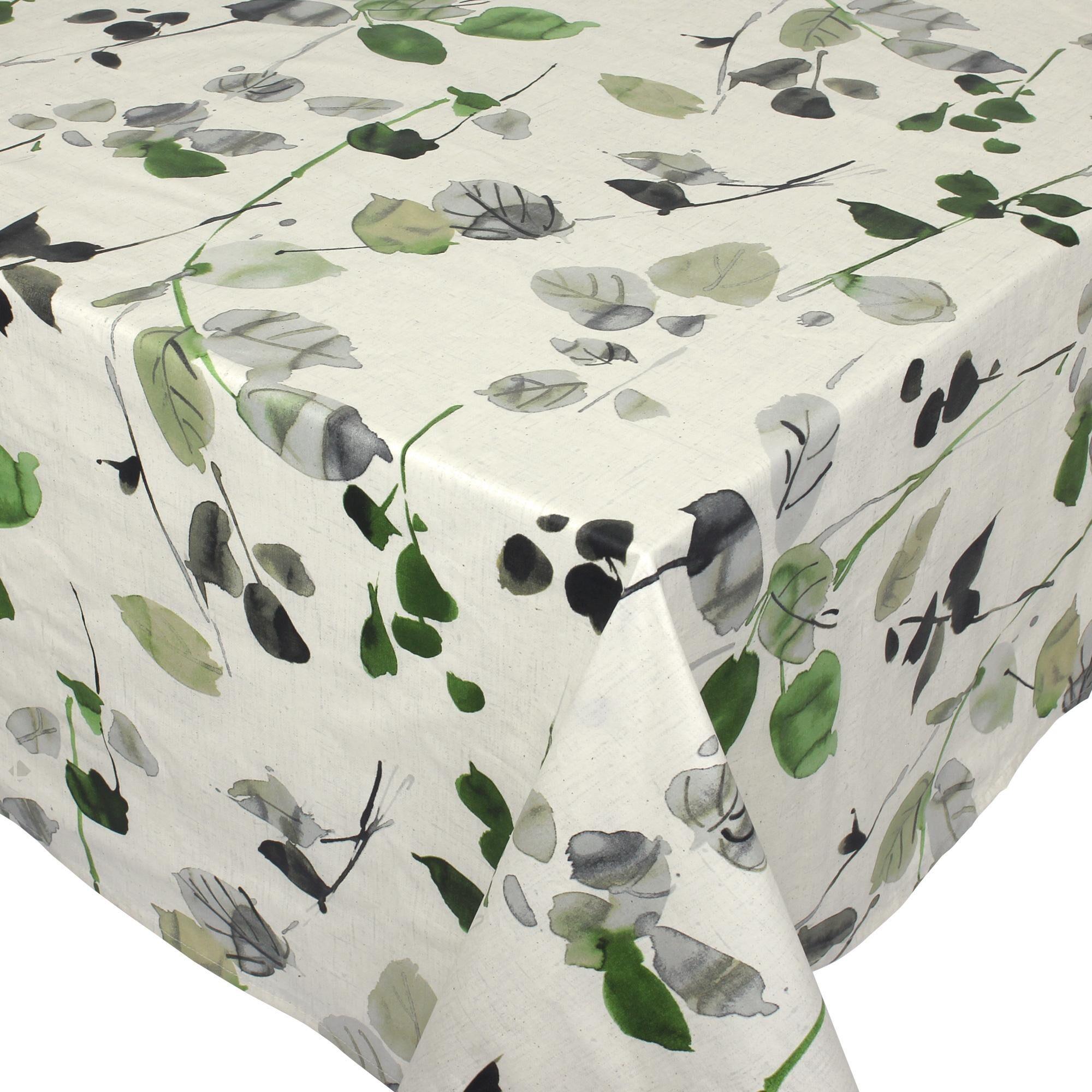 Linnea Nappe carrée 170x170 cm 100% coton enduction acrylique FRENE ecru