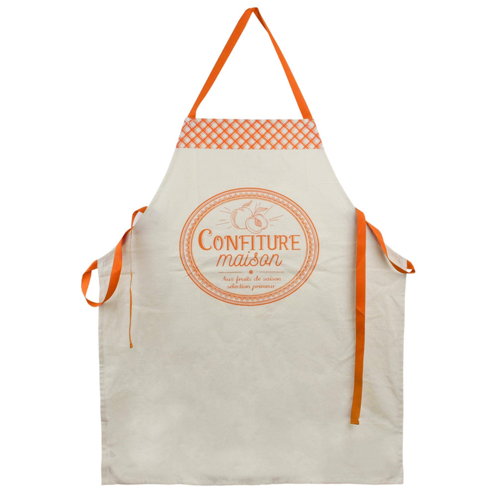 Linnea Tablier de cuisine Cucina Confiture Maison orange