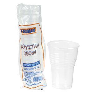 Homie ΣΕΤ 50 Ποτήρια Μιας Χρήσεως Διαφανή - Homie - 80.125