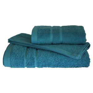 24home.gr Σετ πετσέτες 3τμχ 600gr/m2 Dora Petrol 24home (Ύφασμα: Βαμβάκι 100%, Χρώμα: Πετρόλ ) - 24home.gr - 24-dora-petrol
