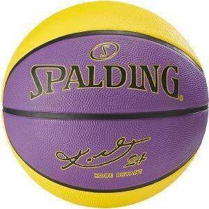 SPALDING ΜΠΑΛΑ SPALDING NBA PLAYER KOBE BRYANT ΚΙΤΡΙΝΗ/ΜΩΒ (7)