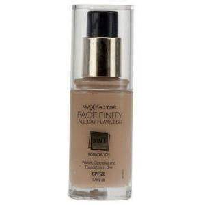 MAX FACTOR MAKE-UP MAX FACTOR FACE FINITY ALL DAY FLAWLESS 3 IN 1 FOUNDATION NO 60 SAND