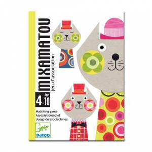 Djeco Playing cards Cards games - Mixamatou
