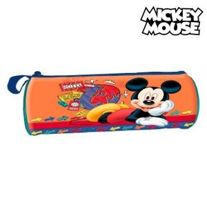 Mickey Mouse Κυλινδρική Κασετίνα Mickey Mouse 32367 Πορτοκαλί