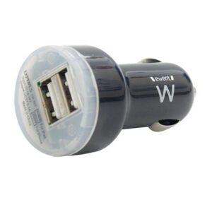 Ewent Φορτιστής Αυτοκινήτου Ewent EW1203 2 x USB 2.0 2,1 A Μαύρο