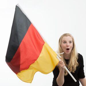 OEM Σημαία της Γερμανίας με Κοντάρι (90 x 60 εκ)