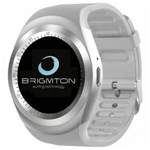 "BRIGMTON Smartwatch BRIGMTON BWATCH-BT7-B 1,3"" Bluetooth Λευκό"