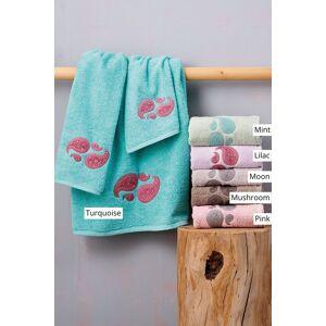 Palamaiki Πετσέτες Μπάνιου (Σετ 3 Τμχ) Palamaiki Towels Collection Mala Lilac