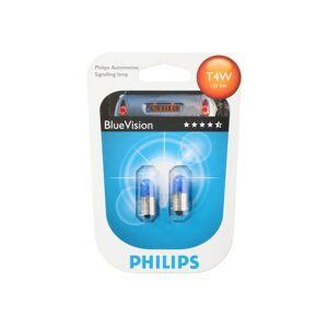 Philips BlueVision Σετ Xenon Φώτα Αυτοκινήτου Τ4W 2 τεμ., 12929BVB2 - Philips