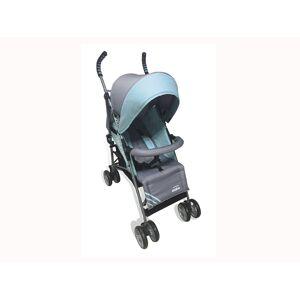 Asalvo Baby Ελαφρύ Καρότσι Βόλτας για βρέφη από 6 μηνών έως 15 κιλά, με ρυθμιζόμενο κάθισμα και κουκούλα, σε γαλάζιο χρώμα, Corcega 12944 - Asalvo