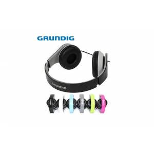 Grundig Αναδιπλούμενα Στερεοφωνικά ακουστικά Silver Edition, 52665 Χρώμα Γαλάζιο - Grundig