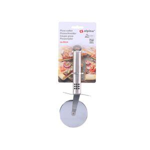 Ανοξείδωτος κόφτης πίτσας, Pizza Cutter Inox, 22 εκατοστά, Alpina - Alpina Switzerland