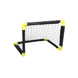 Dunlop Πτυσσόμενο Τέρμα Ποδοσφαίρου σε Μαύρο Κίτρινο χρώμα, 55x44x44cm, Dunlop Sport - Dunlop Sport