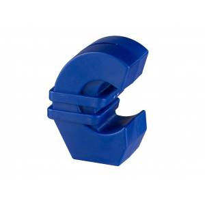 Aria Trade Κουμπαράς σε σχήμα του Ευρώ με εσοχή για νομίσματα, σε μπλε χρώμα, διαστάσεις 8.5x5.5x11.5 εκατοστά - Aria Trade