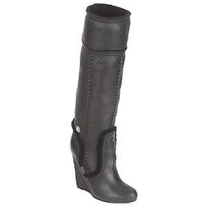 Roberto Cavalli Μπότες για την πόλη Roberto Cavalli QDS598-PJ007  - Black - Size: 41