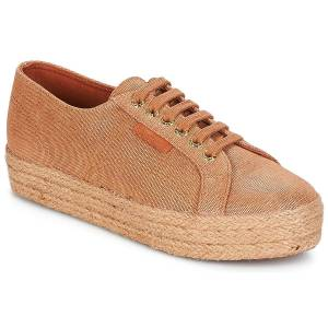 Superga Xαμηλά Sneakers Superga 2730 LAME DEGRADE W ΣΤΕΛΕΧΟΣ: Ύφασμα & ΕΠΕΝΔΥΣΗ: Ύφασμα & ΕΣ. ΣΟΛΑ: Ύφασμα & ΕΞ. ΣΟΛΑ: Καουτσούκ  - Brown - Size: 40