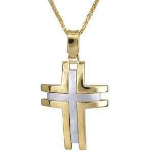 Βαπτιστικοί Σταυροί με Αλυσίδα Χειροποίητος σταυρός βάπτισης 14Κ 024233C 024233C Ανδρικό Χρυσός 14 Καράτια