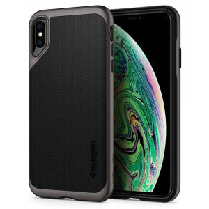 Spigen Neo Hybrid Case for iPhone Xs Max - Gunmetal