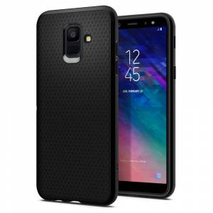 Spigen Liquid Air Armor Case for Samsung Galaxy A6 2018 - Black