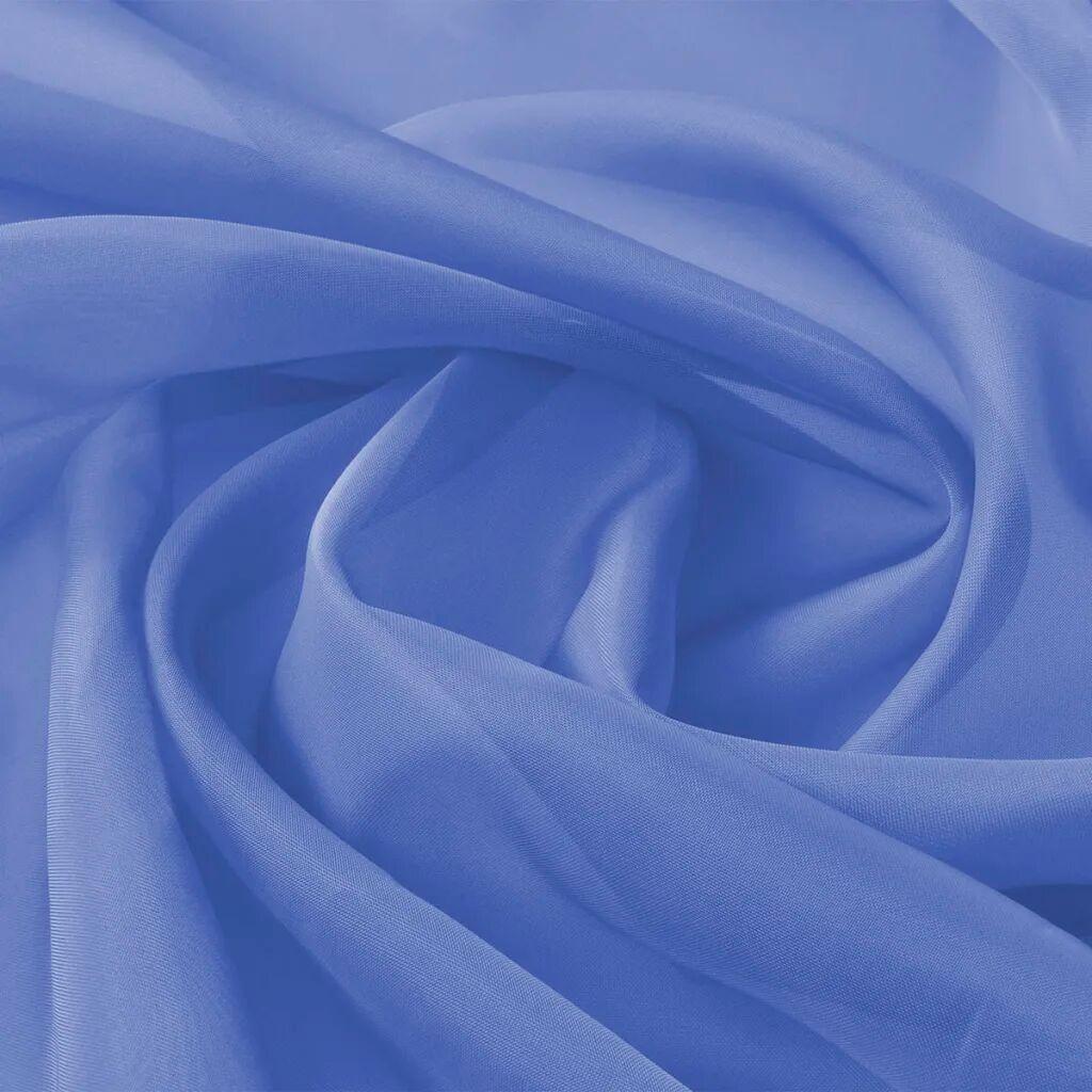 vidaXL Ύφασμα Βουάλ Μπλε Ρουά 1,45 x 20 μ.