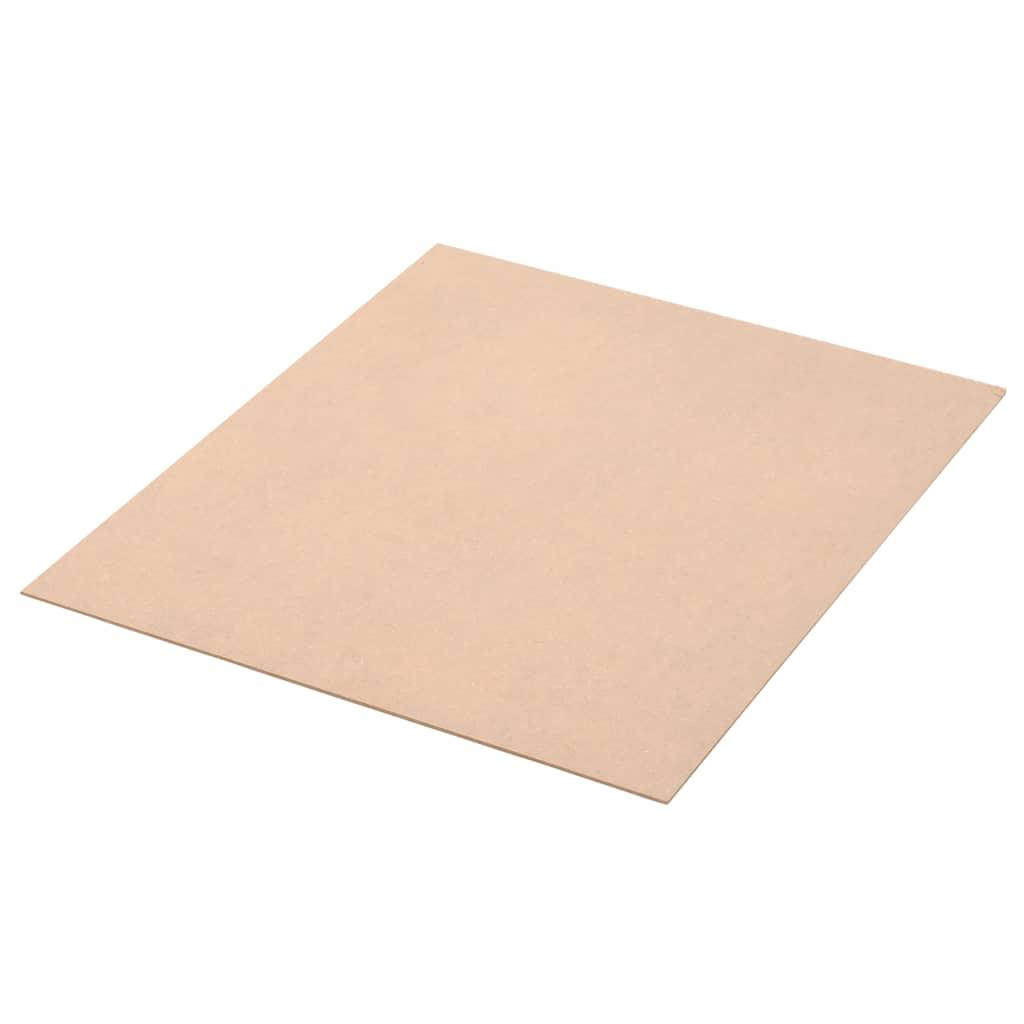vidaXL Φύλλα MDF 10 τεμ. Τετράγωνα 60 x 60 εκ. 2,5 χιλ.