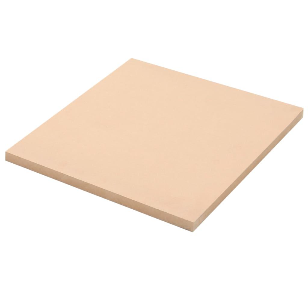 vidaXL Φύλλα MDF 2 τεμ. Τετράγωνα 60 x 60 εκ. 25 χιλ.