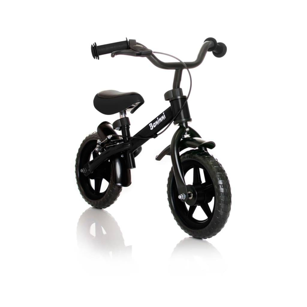 Baninni Ποδήλατο Ισορροπίας Wheely Μαύρο BNFK012-BK