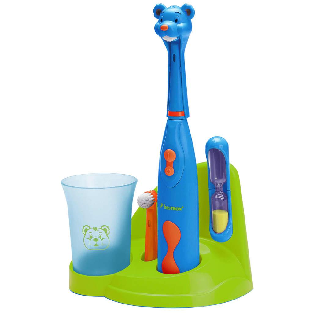 Bestron Σετ Ηλεκτρικής Οδοντόβουρτσας Παιδικό Αρκούδα DSA3500B