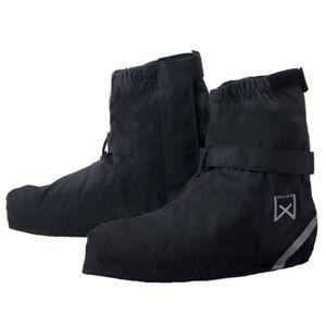 Willex Καλύμματα Παπουτσιών Ποδηλασίας Κοντά Μαύρα 36-39 29423