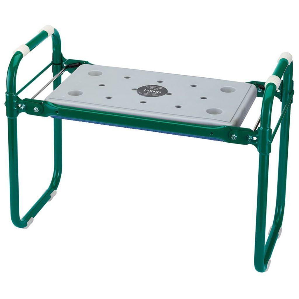 Draper Κάθισμα Κήπου/Προστατευτικό Γόνατων Πράσινο Σίδηρος 64970