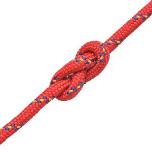 vidaXL Σχοινί Ναυτιλίας Κόκκινο 6 χιλ. 100 μ. από Πολυπροπυλένιο