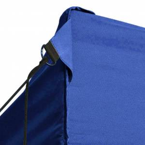 vidaXL Τέντα με 3 Τοιχώματα Πτυσσόμενη Μπλε 3 x 4,5 μ.