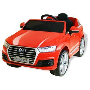 vidaXL Αυτοκίνητο Ηλεκτροκίνητο Audi Q7 6V Κόκκινο