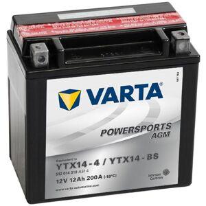 Varta Μπαταρία Μοτοσυκλέτας Powersports AGM YTX14-4/YTX14-BS