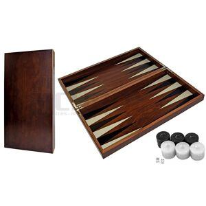 Backgammon Τάβλι Καρυδιά DELUXE NEW