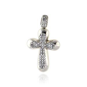 Skaras Jewelry Σταυρός Βάπτισης - Gold