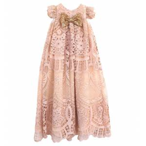 nstNastasia Βαπτιστικό Ρούχο Lisa Gluskin Stonestreet - Pink - Μέγεθος: 6-9 months