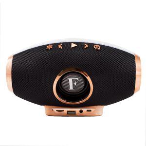 OEM Φορητό ηχείο Bluetooth με ενσωματωμένο μικρόφωνο και LED light show TWS-F1