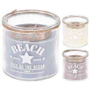 PoliHome Κερί Beach με τύπωμα
