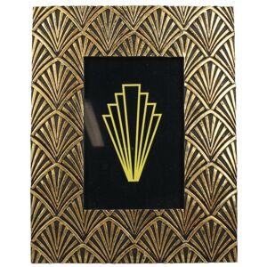 PoliHome Φωτογραφοθήκη Art Deco σε χρυσή κορνίζα mini