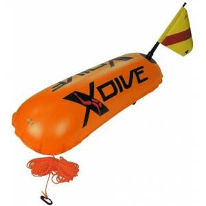 PoliHome Σημαδούρα XDIVE PVC 0.4mm διπλού θαλάμου